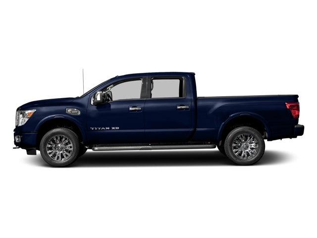 new 2017 nissan titan xd 4x4 diesel crew cab platinum reserve north carolina 1n6ba1f45hn523774. Black Bedroom Furniture Sets. Home Design Ideas