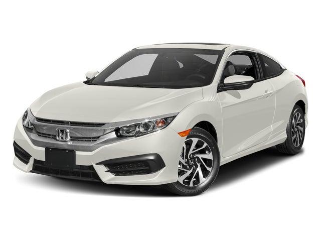 New 2017 honda civic coupe lx p cvt north carolina for Honda civic coupe lx p