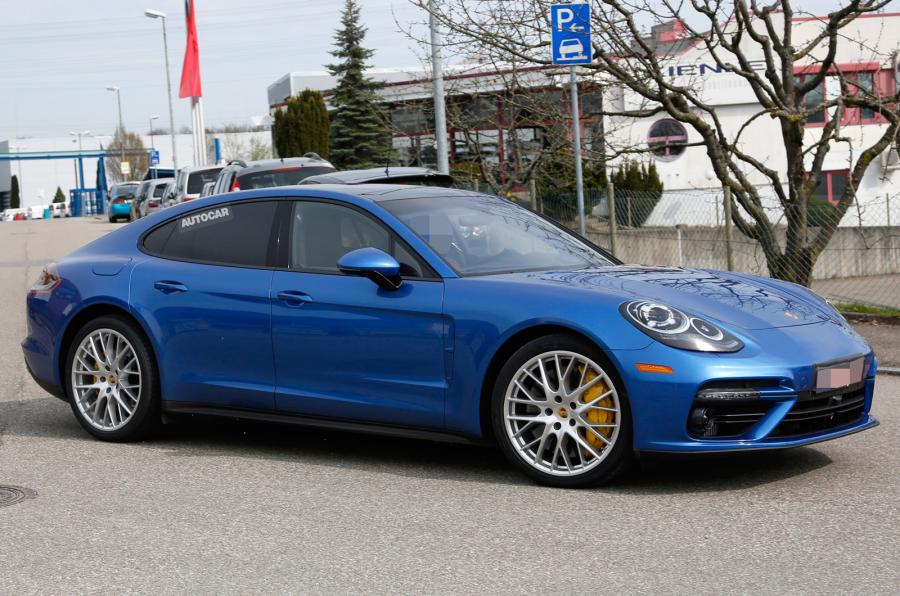 ... 2017 Porsche Panamera as it stretches its legs for the first time, and