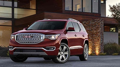 2017 Gmc Acadia Raleigh Nc Trim Levels Exterior