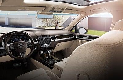 2016 Volkswagen Touareg Raleigh Nc Interior