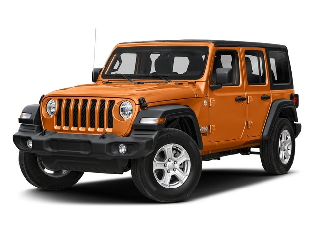 New 2018 Jeep Wrangler Unlimited Sport S 4x4 North Carolina ...