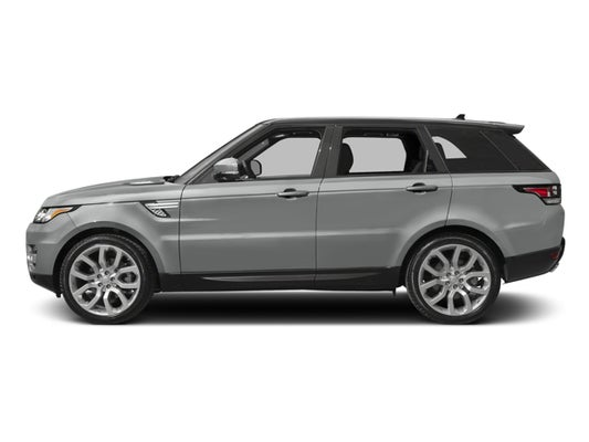 2017 Range Rover Configurations >> 2017 Land Rover Range Rover Sport V6 Supercharged Hse