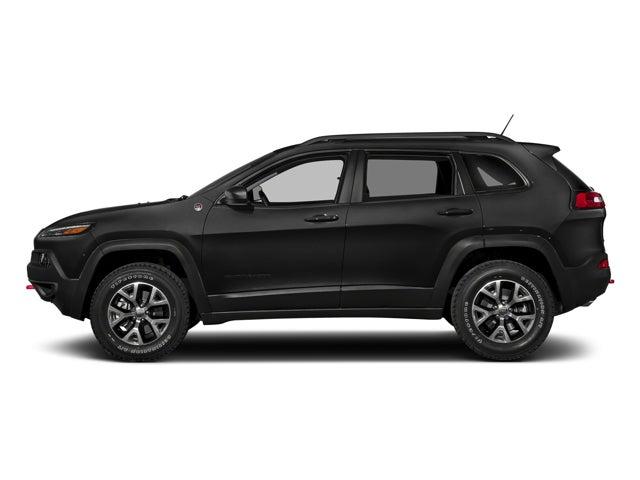 New 2018 Jeep Cherokee Trailhawk® 4x4 North Carolina 1c4pjmbx4jd522413