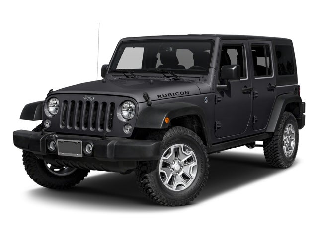 New 2017 Jeep Wrangler Jk Wrangler Unlimited Rubicon 4x4
