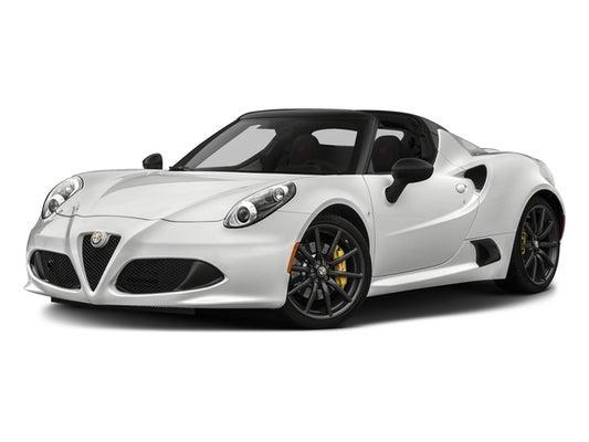 Alfa Romeo 4C >> 2018 Alfa Romeo 4c Spider