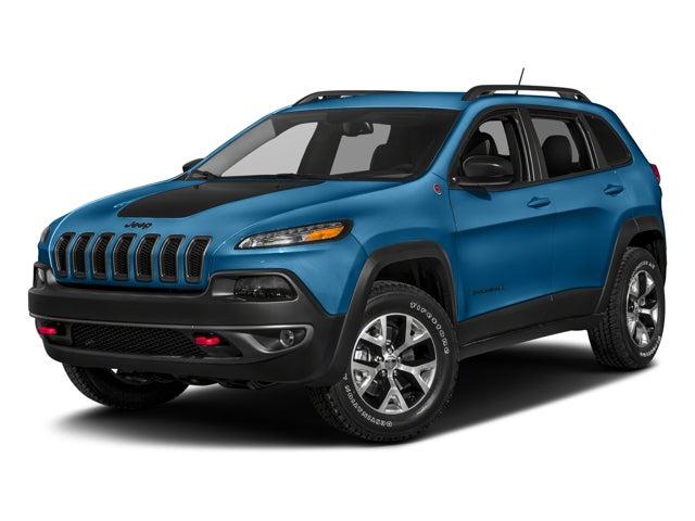 New 2018 Jeep Cherokee Trailhawk® 4x4 North Carolina 1c4pjmbx5jd532934