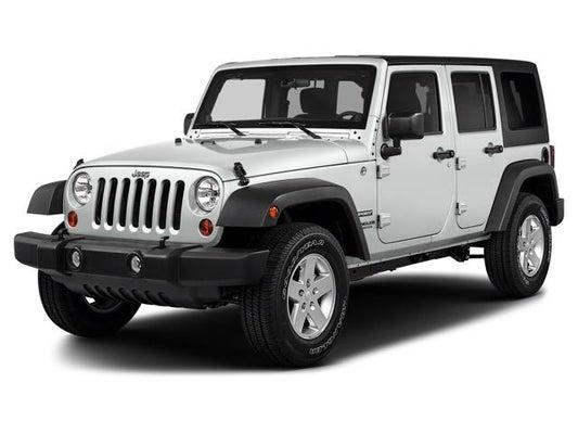 Jeep Wrangler Jk >> 2018 Jeep Wrangler Jk Unlimited Sport 4x4