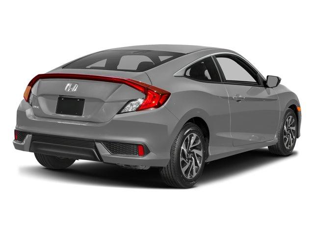 New 2017 Honda Civic Coupe Lx P Cvt North Carolina