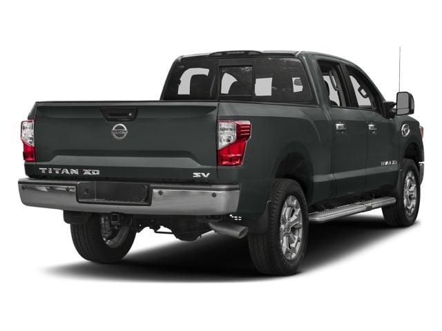 new 2017 nissan titan xd 4x4 diesel crew cab sv north carolina 1n6ba1f42hn510853. Black Bedroom Furniture Sets. Home Design Ideas