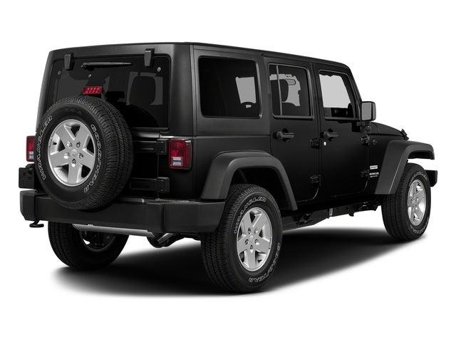 New 2018 Jeep Wrangler Jk Unlimited Sport S 4x4 North