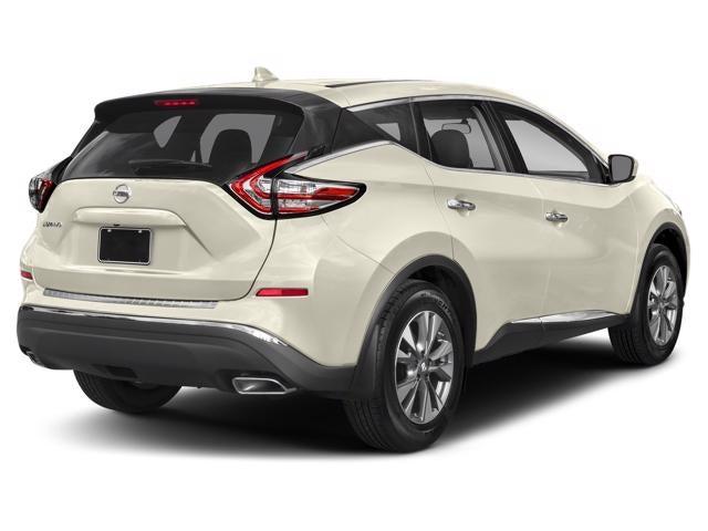 New 2018 Nissan Murano Awd Sl North Carolina 5n1az2mh4jn120776