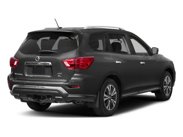 New 2018 Nissan Pathfinder 4x4 Sl North Carolina