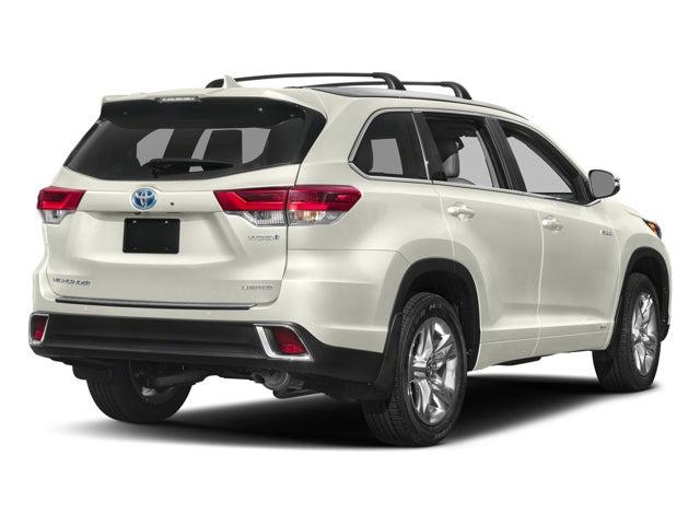 New 2018 Toyota Highlander Hybrid Limited Platinum V6 Awd North