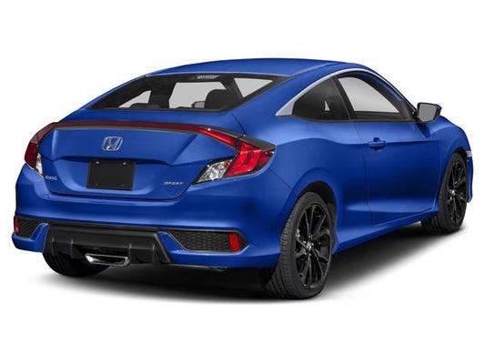 Honda Civic Coupe >> 2019 Honda Civic Coupe Sport Cvt