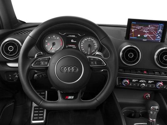 2016 Audi S3 4dr Sdn Quattro Premium Plus In Raleigh Nc Leith Cars