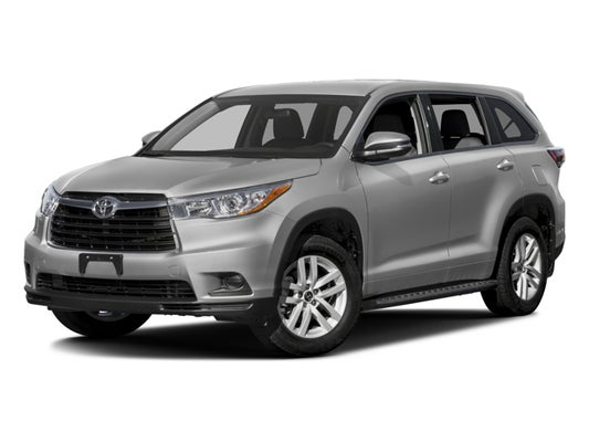 2016 Toyota Highlander Le V6 >> 2016 Toyota Highlander Le V6