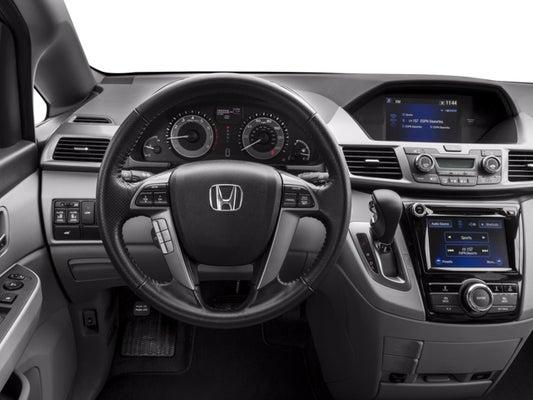 2017 Honda Odyssey Se >> 2017 Honda Odyssey Ex L Auto
