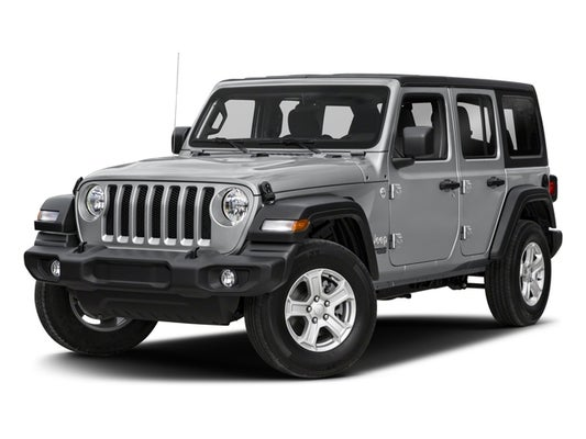 2018 Jeep Wrangler Unlimited Sport 4x4 In Raleigh Nc Leith Cars