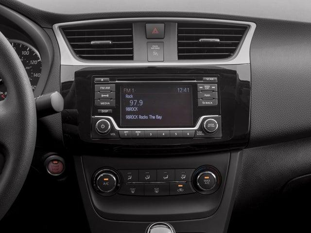 New 2018 Nissan Sentra SV CVT North Carolina 3N1AB7AP9JL644767