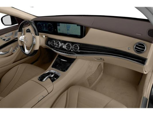S class 2020 interior