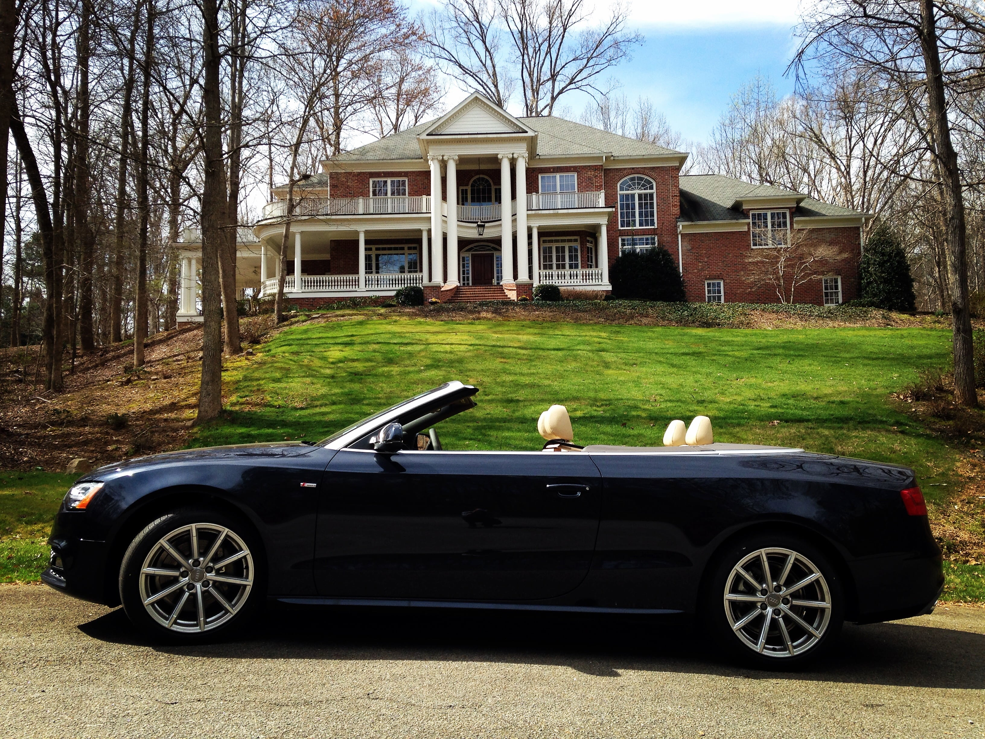 Audi A5 Convertible Cabriolet Review In Cary North Carolina