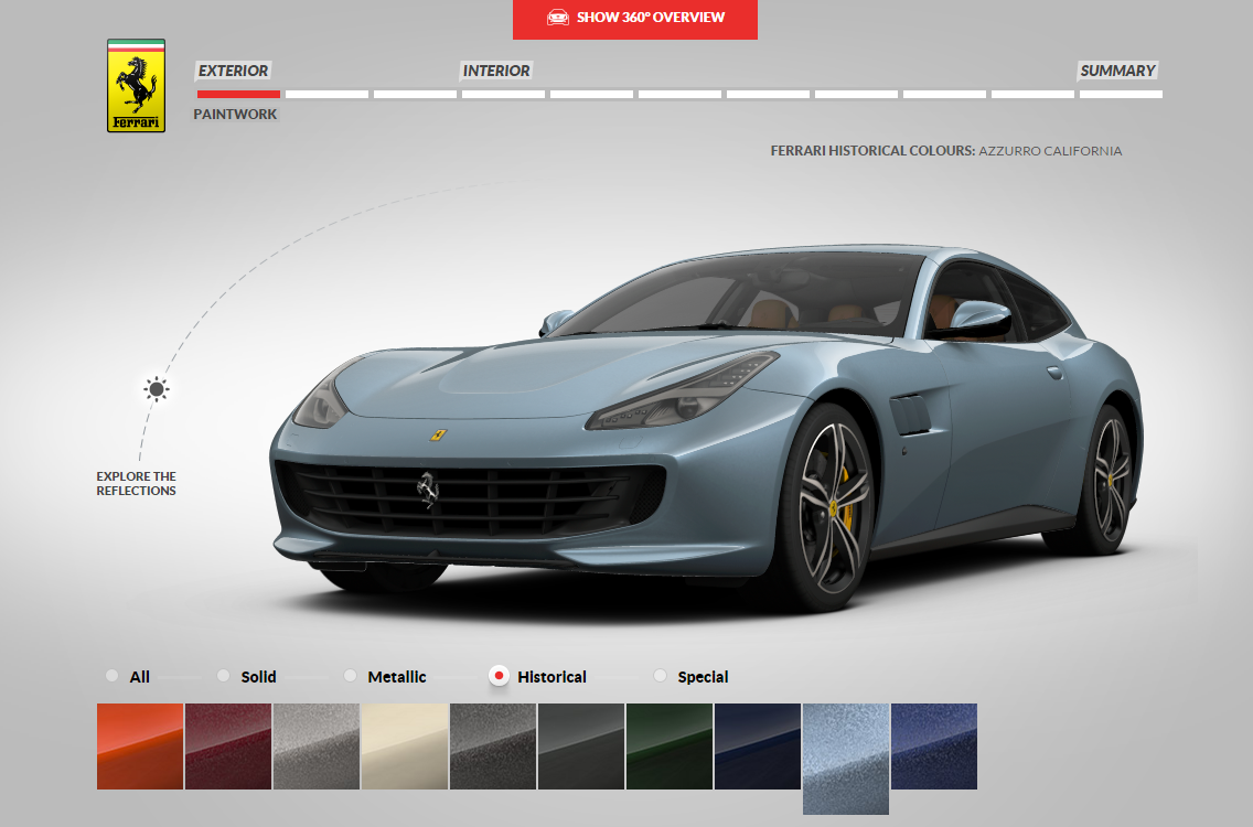 Design Your Own Car >> Blogsectioncustomize Your Own Ferrari And Don T Pay For It