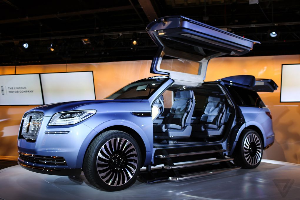 The Lincoln Navigator Concept Is Out Of This World