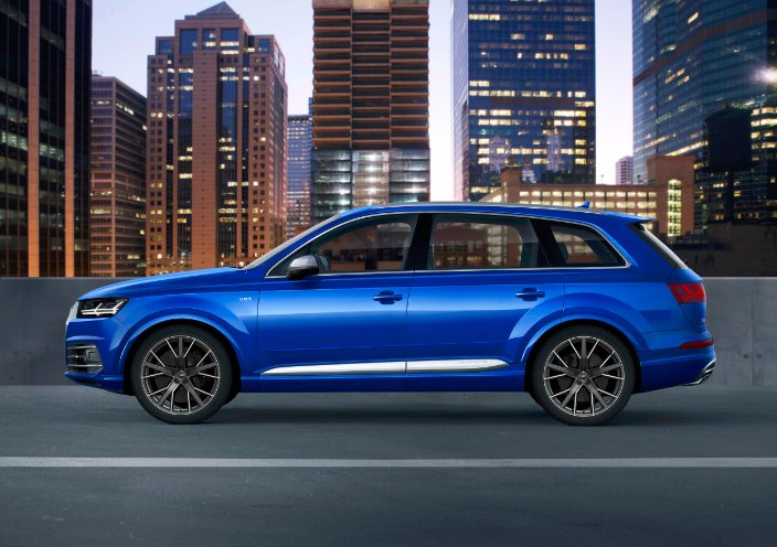 Audi SQ Will Feature The Industrys First Electric Turbocharger - Audi sq7