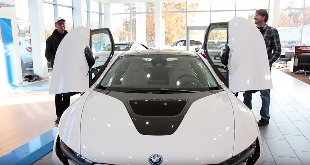 LeithCars.com Zero to 60TV and the BMW i8 at Leith BMW