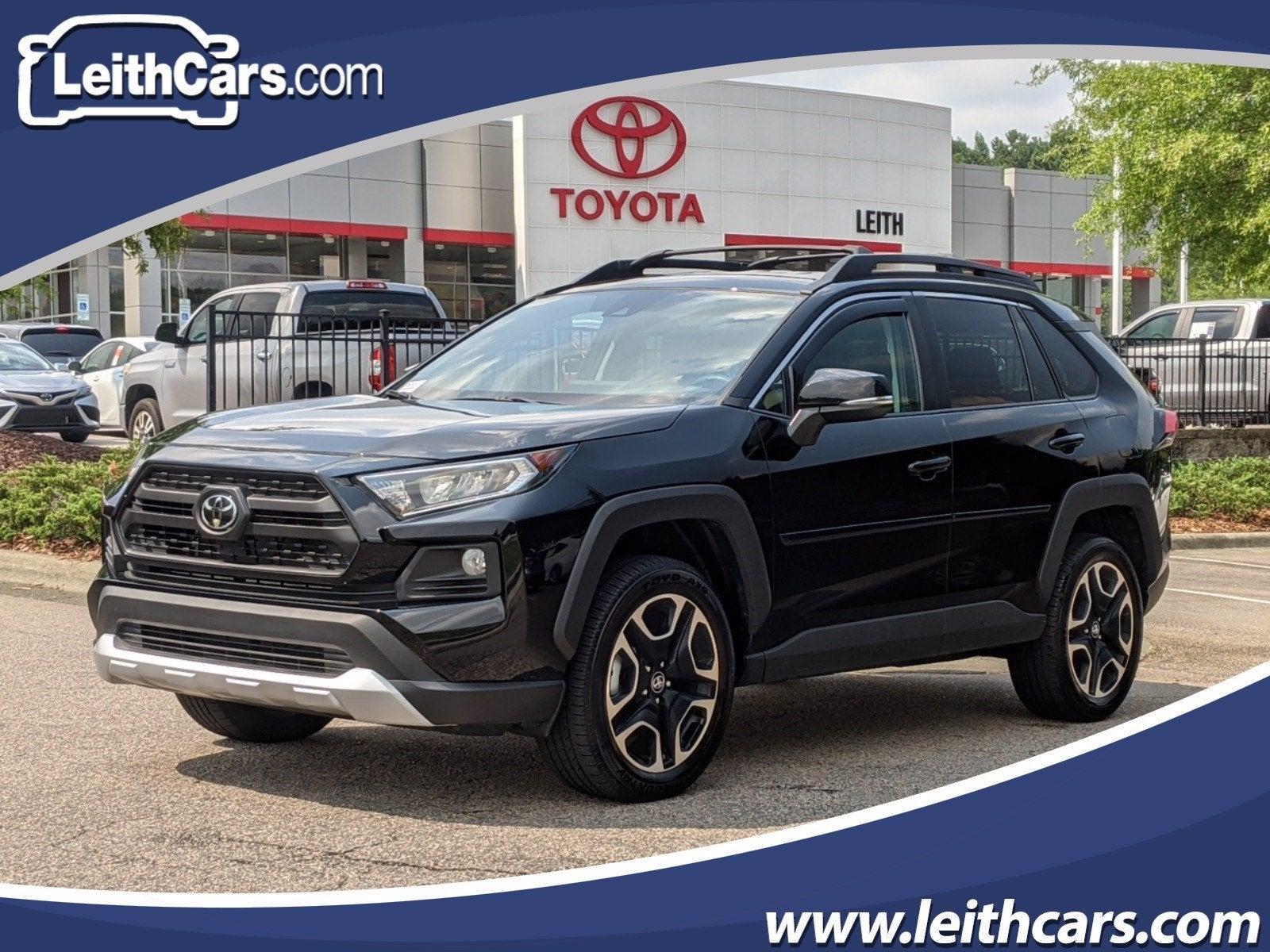New 2019 Toyota Rav4 Adventure Awd North Carolina 2t3j1rfv5kw007825