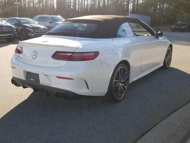 New 2019 Mercedes Benz Amg E 53 4matic Cabriolet North Carolina