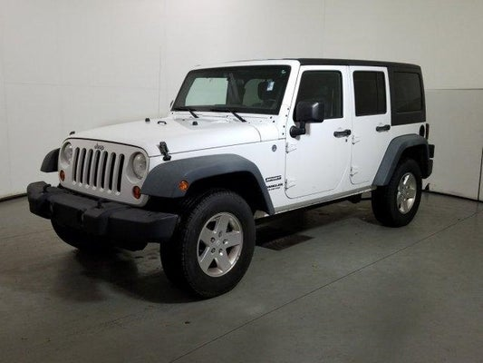 Jeep Wrangler Unlimited Sport >> 2012 Jeep Wrangler Unlimited Sport