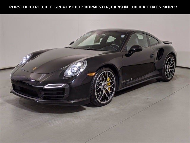 Used 2016 Porsche 911 Turbo S North Carolina Wp0ad2a94gs166389