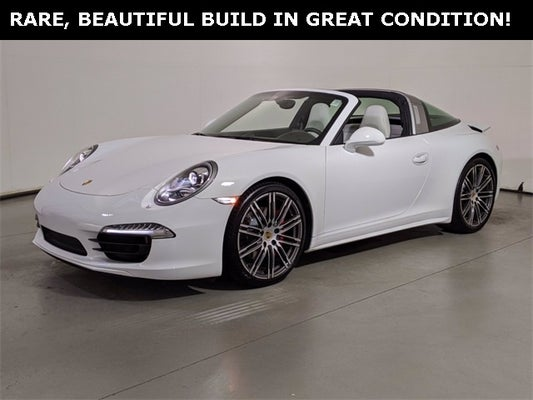 Used 2015 Porsche 911 Targa 4s North Carolina Wp0bb2a91fs135464