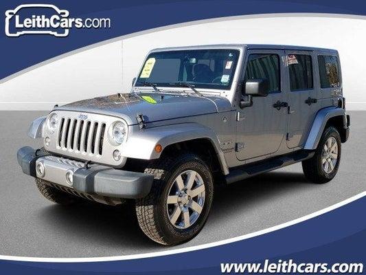 2016 Jeep Wrangler Sahara >> 2016 Jeep Wrangler Unlimited 4wd 4dr Sahara