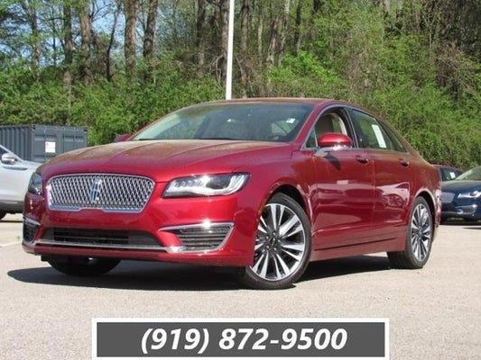 2019 Lincoln Mkz Reserve Ii Fwd In Raleigh Nc Leith Cars