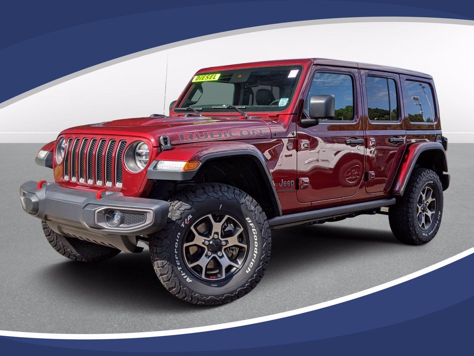 New 2021 Jeep Wrangler Rubicon North Carolina 1c4jjxfm1mw543090