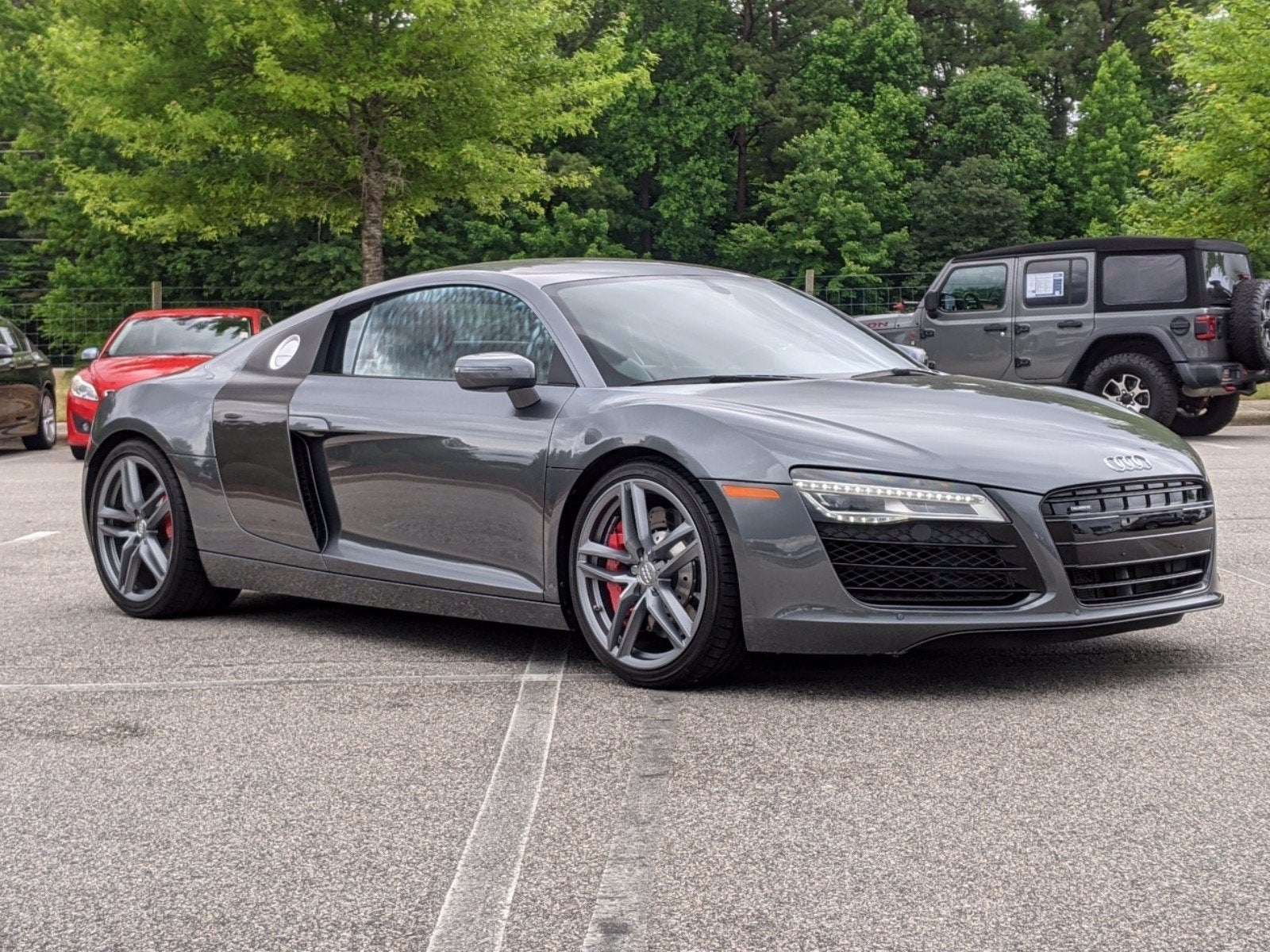 Used 2015 Audi R8 2dr Cpe Auto Quattro V8 North Carolina