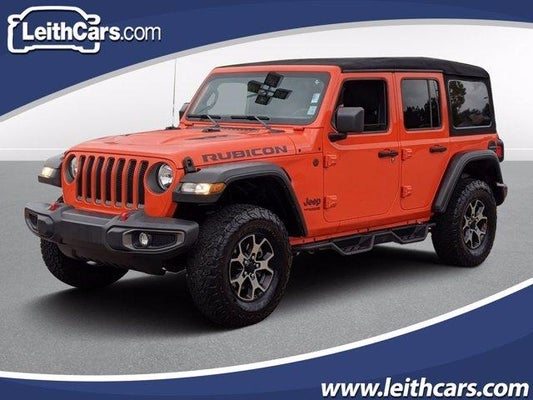 Used 2019 Jeep Wrangler Unlimited Rubicon 4x4 North Carolina 1c4hjxfn1kw523488