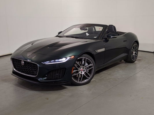 New 2021 Jaguar F-TYPE Convertible Auto P300 North ...