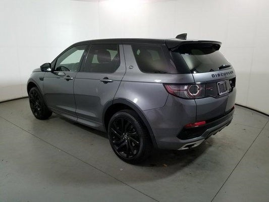 2017 Land Rover Discovery Sport Hse Luxury 4wd