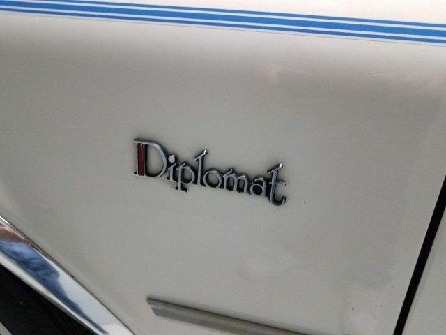 used 1987 dodge diplomat north carolina 50501987 dodge diplomat base in  raleigh, nc leith cars