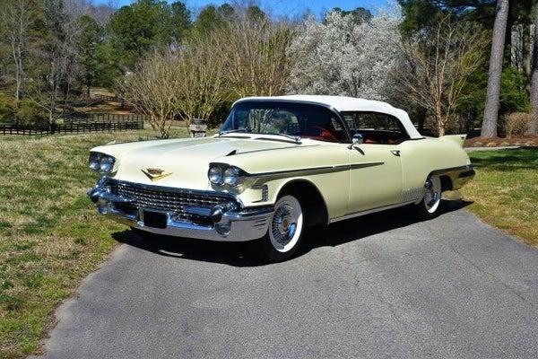 1958 Cadillac Eldorado Biarritz Base In Raleigh Nc Leith Cars