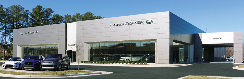Land Rover Raleigh Technicians